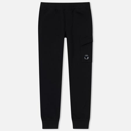 Мужские брюки C.P. Company Light Fleece Cargo Caviar Black