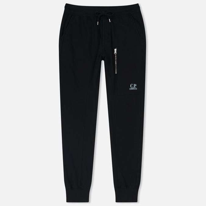 Мужские брюки C.P. Company Sweat Logo Print Caviar