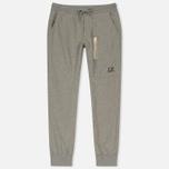 Мужские брюки C.P. Company Sweat Logo Print Grey Melange фото- 0
