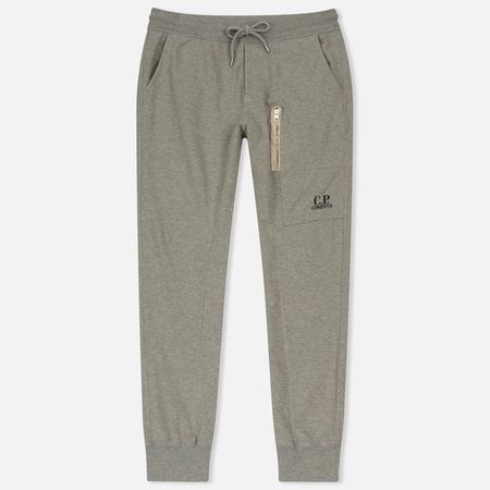 Мужские брюки C.P. Company Sweat Logo Print Grey Melange