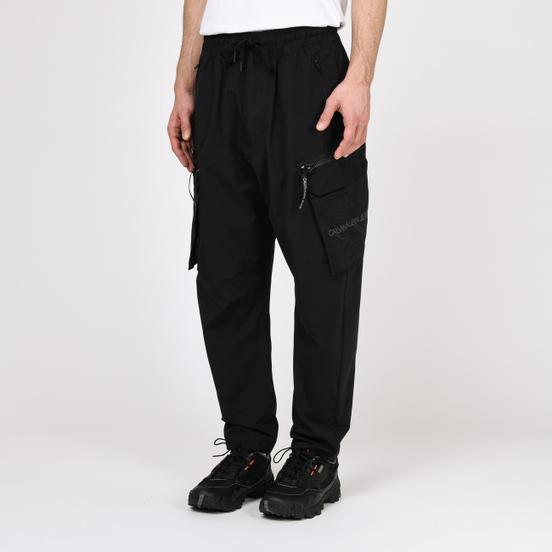 Мужские брюки Calvin Klein Jeans Oversized Cargo Black