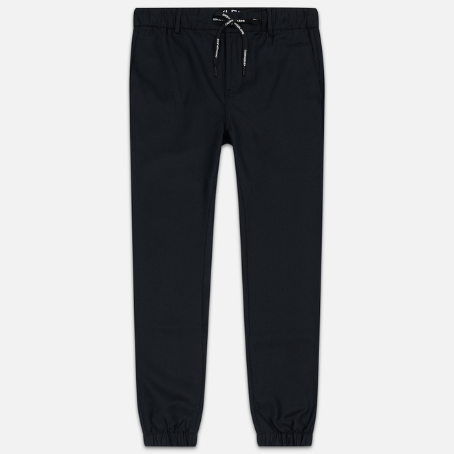 Мужские брюки Calvin Klein Jeans Slim Wool Blend Jogger Black