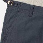 Мужские брюки Carhartt WIP Aviation Columbia Ripstop 6.5 Oz Blacksmith Rinsed фото- 1