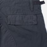 Мужские брюки Carhartt WIP Aviation Columbia Ripstop 6.5 Oz Blacksmith Rinsed фото- 3