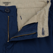 Мужские брюки Carhartt WIP Aviation Columbia Ripstop 6.5 Oz Blue Rinsed фото- 2