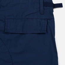 Мужские брюки Carhartt WIP Aviation Columbia Ripstop 6.5 Oz Blue Rinsed фото- 4