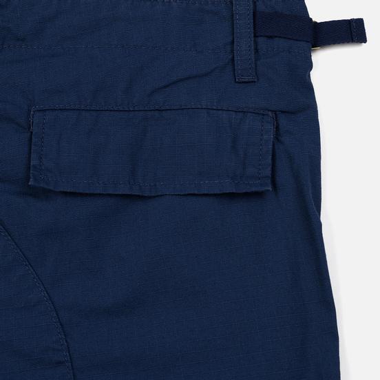Мужские брюки Carhartt WIP Aviation Columbia Ripstop 6.5 Oz Blue Rinsed