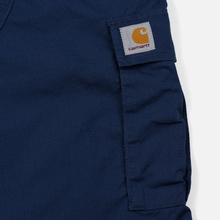 Мужские брюки Carhartt WIP Aviation Columbia Ripstop 6.5 Oz Blue Rinsed фото- 5