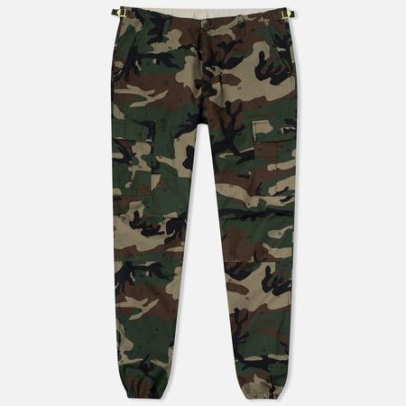 Carhartt WIP Aviation Columbia Ripstop Men`s Trousers 6.5 Oz Camo 313 Green
