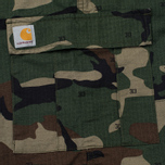 Мужские брюки Carhartt WIP Aviation Columbia Ripstop 6.5 Oz Camo 313 Green фото- 5
