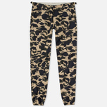 Мужские брюки Carhartt WIP Aviation Columbia Ripstop 6.5 Oz Camo Duck Rinsed фото- 0