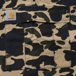Мужские брюки Carhartt WIP Aviation Columbia Ripstop 6.5 Oz Camo Duck Rinsed фото- 4