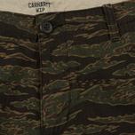 Мужские брюки Carhartt WIP Aviation Columbia Ripstop 6.5 Oz Camo Tiger Laurel Rinsed фото- 2