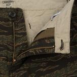 Мужские брюки Carhartt WIP Aviation Columbia Ripstop 6.5 Oz Camo Tiger Laurel Rinsed фото- 1
