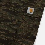 Мужские брюки Carhartt WIP Aviation Columbia Ripstop 6.5 Oz Camo Tiger Laurel Rinsed фото- 3