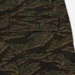 Мужские брюки Carhartt WIP Aviation Columbia Ripstop 6.5 Oz Camo Tiger Laurel Rinsed фото- 5
