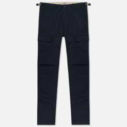 Мужские брюки Carhartt WIP Aviation Columbia Ripstop 6.5 Oz Dark Navy Rinsed