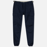 Carhartt WIP Aviation Columbia Ripstop Men`s Trousers 6.5 Oz Dark Navy Rinsed photo- 0