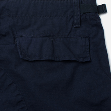 Мужские брюки Carhartt WIP Aviation Columbia Ripstop 6.5 Oz Dark Navy Rinsed фото- 3