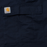 Carhartt WIP Aviation Columbia Ripstop Men`s Trousers 6.5 Oz Dark Navy Rinsed photo- 5