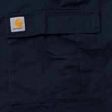 Мужские брюки Carhartt WIP Aviation Columbia Ripstop 6.5 Oz Dark Navy Rinsed фото- 4