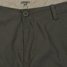 Мужские брюки Carhartt WIP Aviation Columbia Ripstop 6.5 Oz Moor Rinsed фото- 1