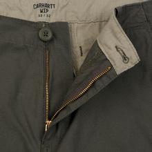 Мужские брюки Carhartt WIP Aviation Columbia Ripstop 6.5 Oz Moor Rinsed фото- 2