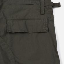 Мужские брюки Carhartt WIP Aviation Columbia Ripstop 6.5 Oz Moor Rinsed фото- 4