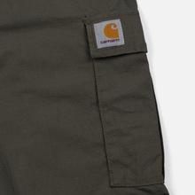 Мужские брюки Carhartt WIP Aviation Columbia Ripstop 6.5 Oz Moor Rinsed фото- 5