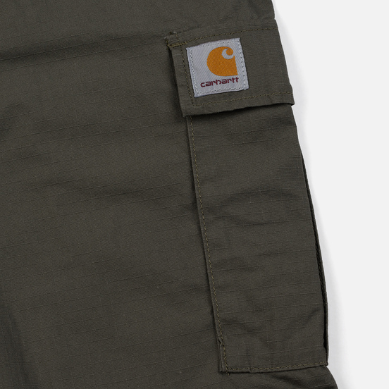 Мужские брюки Carhartt WIP Aviation Columbia Ripstop 6.5 Oz Moor Rinsed