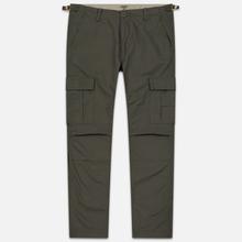Мужские брюки Carhartt WIP Aviation Columbia Ripstop 6.5 Oz Moor Rinsed фото- 0