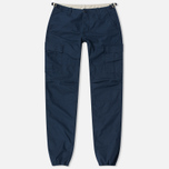 Carhartt WIP Aviation Columbia Ripstop 6.5 Oz Men`s Trousers Navy Rinsed photo- 0
