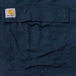 Carhartt WIP Aviation Columbia Ripstop 6.5 Oz Men`s Trousers Navy Rinsed photo- 4