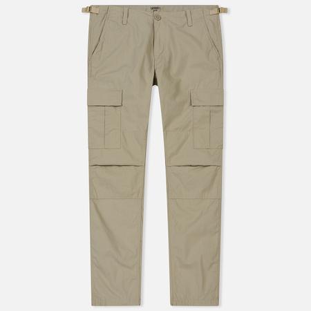 Мужские брюки Carhartt WIP Aviation Columbia Ripstop 6.5 Oz Wall Rinsed