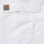 Мужские брюки Carhartt WIP Aviation Columbia Ripstop 6.5 Oz White Rinsed фото- 4