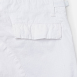 Мужские брюки Carhartt WIP Aviation Columbia Ripstop 6.5 Oz White Rinsed фото- 5