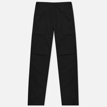 Мужские брюки Carhartt WIP Aviation Columbia Ripstop 6.5 Oz Black Rinsed фото- 1