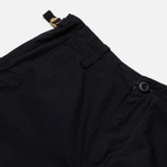 Мужские брюки Carhartt WIP Aviation Columbia Ripstop 6.5 Oz Black Rinsed фото- 2