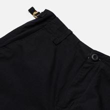 Мужские брюки Carhartt WIP Aviation Columbia Ripstop 6.5 Oz Black Rinsed фото- 2