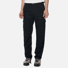Мужские брюки Carhartt WIP Aviation Columbia Ripstop 6.5 Oz Black Rinsed фото- 4
