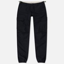 Мужские брюки Carhartt WIP Aviation Columbia Ripstop 6.5 Oz Black Rinsed фото- 0