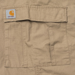 Мужские брюки Carhartt WIP Aviation Columbia Ripstop 6.5 Oz Leather Rinsed фото- 4