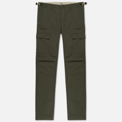 Мужские брюки Carhartt WIP Aviation Columbia Ripstop 6.5 Oz Cypress Rinsed