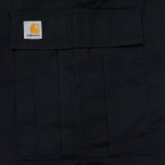 Carhartt WIP Cargo Columbia Ripstop 6.5 Oz Men's Trousers Black Rinsed photo- 4