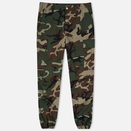 Carhartt WIP Cargo Columbia Ripstop Men`s Trousers 6.5 Oz Camo 313 Green
