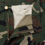 Мужские брюки Carhartt WIP Cargo Columbia Ripstop 6.5 Oz Camo 313 Green фото- 2