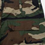 Мужские брюки Carhartt WIP Cargo Columbia Ripstop 6.5 Oz Camo 313 Green фото- 3