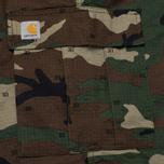 Мужские брюки Carhartt WIP Cargo Columbia Ripstop 6.5 Oz Camo 313 Green фото- 5