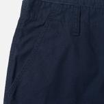 Мужские брюки Carhartt WIP Cargo Columbia Ripstop 6.5 Oz Dark Navy Rinsed фото- 1