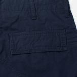 Мужские брюки Carhartt WIP Cargo Columbia Ripstop 6.5 Oz Dark Navy Rinsed фото- 3